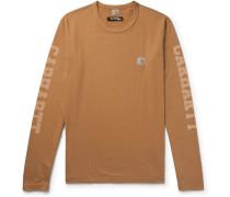 + Carhartt Printed Cotton-jersey T-shirt