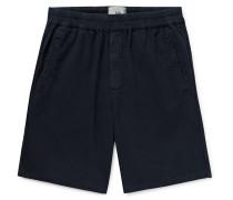 Linen and Cotton-Blend Shorts