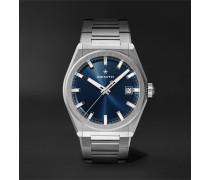 Defy Classic Automatic 41mm Brushed-Titanium Watch, Ref. No. 95.9000.670/51.M9000