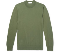 Mélange Cotton Sweater