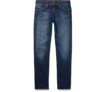 Delaware Slim-fit Stretch-denim Jeans - Dark denim