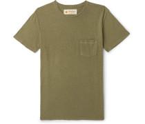 Slub Hemp And Organic Cotton-blend T-shirt