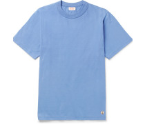 Cotton-jersey T-shirt - Blue