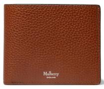 Full-grain Leather Billfold Wallet - Brown
