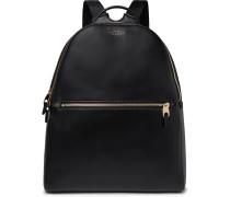 Bond Leather Backpack - Black