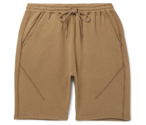 Coach Loopback Cotton-blend Jersey Shorts