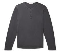Cotton-Jersey Henley T-Shirt