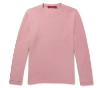 Dale Ribbed Cotton-blend Sweatshirt