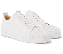 Louis Junior Spikes Cap-Toe Leather Sneakers