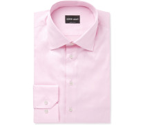 Light-pink Cotton-twill Shirt - Pink