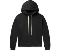 Cloud Garment-Dyed Loopback Cotton-Jersey Hoodie