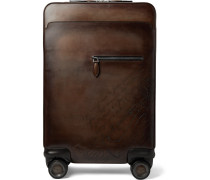 Formula 1000 Scritto Leather Suitcase