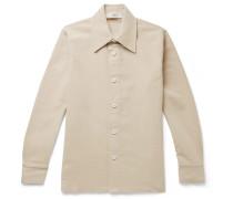 Mats Cotton-Moleskin Overshirt