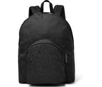 Skull-jacquard Backpack