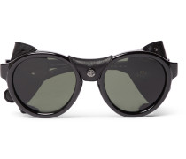 Round-frame Acatete Polarised Sunglasses