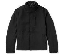 Cotton And Virgin Wool-blend Drill Jacket