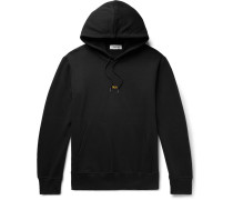 Taxi London Logo-print Loopback Cotton-jersey Hoodie - Black