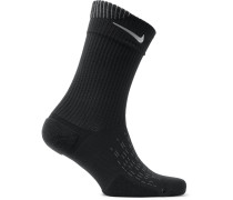 Spark Cushioned Dri-fit Socks - Black