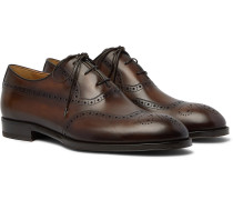 Dune Leather Wingtip Brogues