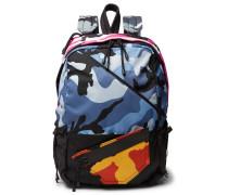 Valentino Garavani Camouflage-print Shell Backpack