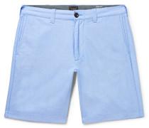 Slim-fit Cotton Oxford Shorts