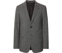 Black Chambers Slim-Fit Stretch-Wool Suit Jacket