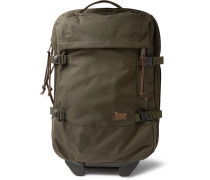 Dryden Twill Carry-on Suitcase - Green