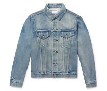 Thumper Iii Distressed Denim Jacket - Light blue