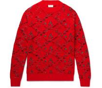 Wool-blend Jacquard Sweater