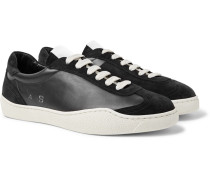 Lars Suede And Leather Sneakers