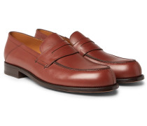 Dennis Collapsible-Heel Leather Loafers