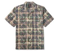 Paisley Cotton-Poplin Shirt