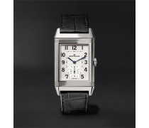 Reverso Classic Large Hand-Wound 27.4mm Stainless Steel and Alligator Watch