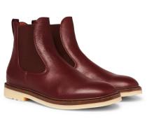 Winter Beatle Walk Full-grain Leather Chelsea Boots - Brown