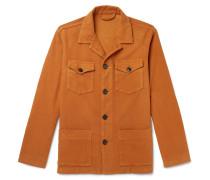 Cotton-Blend Overshirt