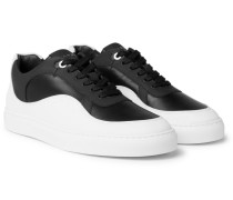 Wave Two-tone Leather Sneakers