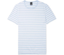 Tessler Slim-fit Striped Cotton-jersey T-shirt