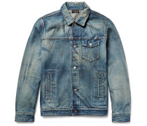 Thumper Distressed Denim Jacket