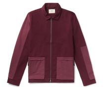 Panelled Cotton-Twill Chore Jacket