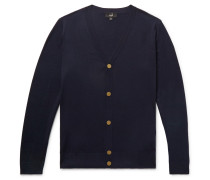 Wool Cardigan - Midnight blue