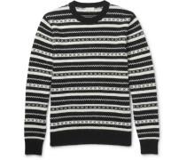 Fair Isle Jacquard-knit Mohair-blend Sweater