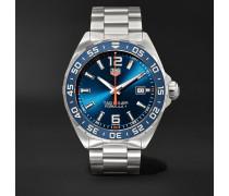 Formula 1 Quartz 43mm Stainless Steel Watch - Blue
