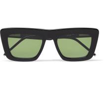 Square-frame Acetate Optical Sunglasses