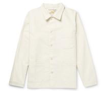 Cotton-moleskin Chore Jacket - Ivory
