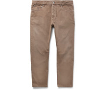 Stretch-denim Jeans - Brown