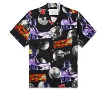 + DJ Harvey Camp-Collar Printed Woven Shirt