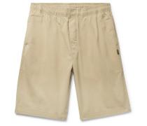 Brushed Cotton-twill Shorts
