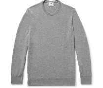 Charles Slim-fit Cashmere Sweater - Gray