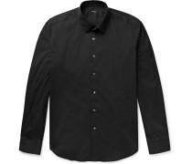 Sylvain Slim-fit Stretch Cotton-blend Shirt