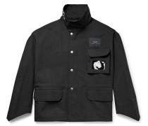 Oversized Cotton And Nylon-blend Twill Jacket